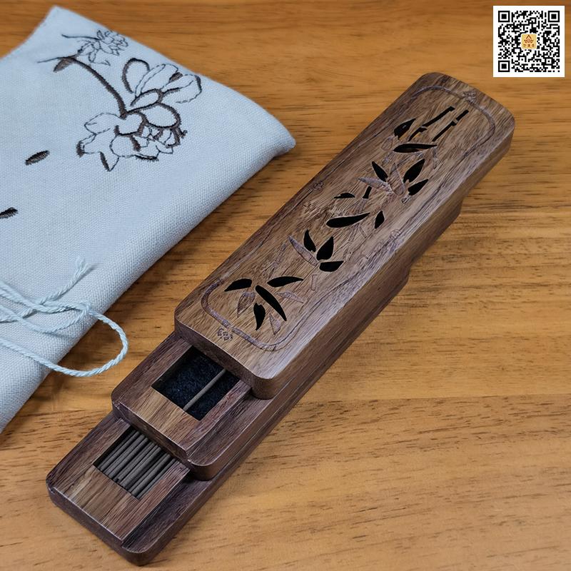 妙莲香礼-竹香具旅行套装-开合样式
